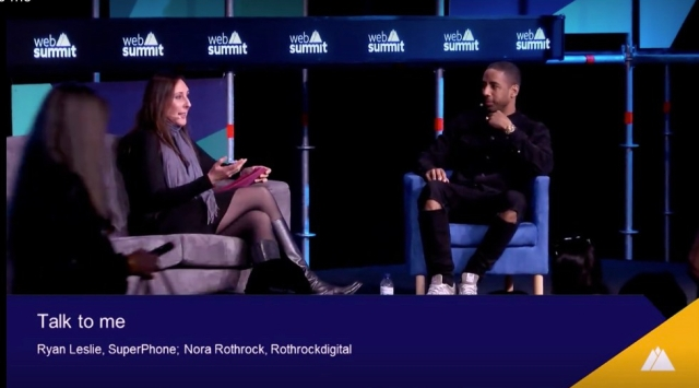 Talk with Me Nora and Ryan Leslie Web Summit